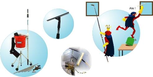 Comment nettoyer les grandes vitres - Comment nettoyer des vitres ...